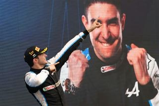 Esteban Ocon au panthéon français de la F1