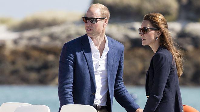 Kate et William prennent des vacances- ils emmènent leurs enfants sur une île privée (photos)