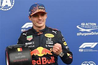 F1- Verstappen en pole position devant Russell sous la pluie en Belgique