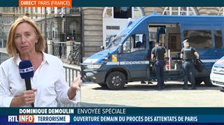 Le procès des attentats de Paris débute ce mercredi- Le coeur de la ville est en train de se barricader