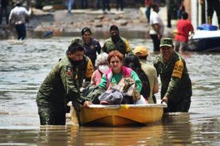Inondations au Mexique - 17 morts dans un hôpital