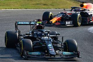 F1- Valtteri Bottas (Mercedes) gagne la course sprint qualificative du Grand Prix d'Italie
