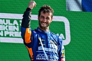 F1- Daniel Ricciardo remporte le Grand Prix d'Italie, son premier avec McLaren
