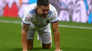 Il a une gêne au genou- Carlo Ancelotti donne des nouvelles inquiétantes d'Eden Hazard 2