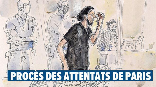 Je voudrais faire un commentaire sur les vidéos...- l'échange surréaliste entre Salah Abdeslam et le président de la cour