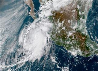 Mexique- l'ouragan Pamela provoque des dégâts mineurs