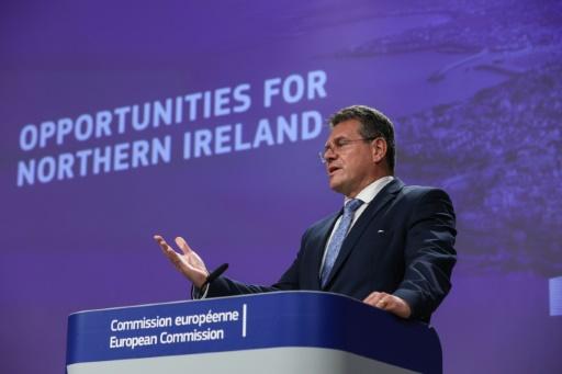 Brexit: Bruxelles propose d'alléger les contrôles en Irlande du Nord pour apaiser les tensions