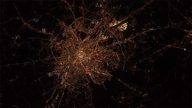 Cet astronaute américain publie une incroyable photo de Bruxelles depuis l'espace