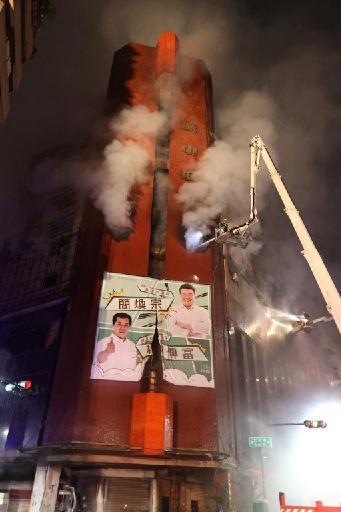 Le bilan grimpe à 46 morts dans l'incendie d'un immeuble à Taïwan