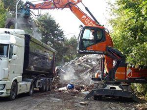 """""""Justice pour les sinistrés"""": le cri de désespoir d'une cinquantaine de personnes à Liège"""