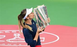 Tennis- l'Espagnole Paula Badosa remporte le tournoi d'Indian Wells