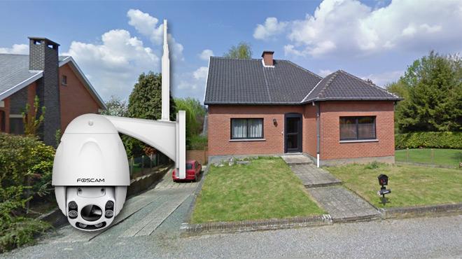 Vous voulez surveiller l'extérieur de votre maison avec une caméra robotisée sans vous ruiner ? Ce modèle chinois pourrait vous séduire…