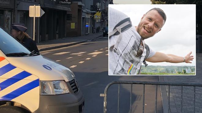"""Un collègue du policier Amaury Delrez tué à Spa s'exprime: """"Tu faisais partie d'une grande famille"""""""