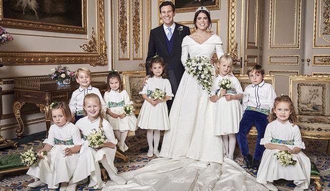 La princesse Eugenie partage une photo inédite de son mariage