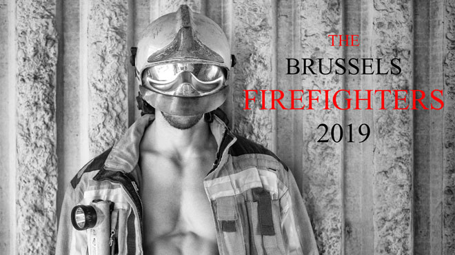 """Les pompiers de Bruxelles dévoilent leur calendrier SEXY: """"Je n'ai pas dû retoucher les corps et les muscles"""" (photos)"""