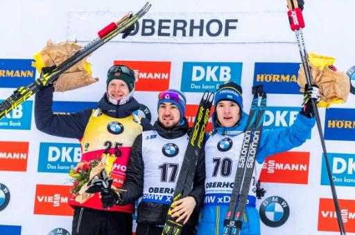 """Biathlon: Fourcade, en quête d'un """"petit grain de magie"""", manque le podium à Oberhof"""