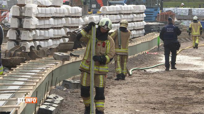 Fuite de gaz près de la place Fernand Cocq: la chaussée d'Ixelles est rouverte