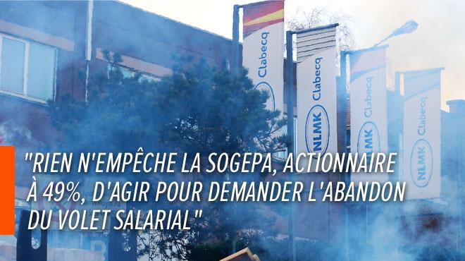 Les syndicats de NLMK Clabecq demandent au bras financier de la Wallonie d'agir