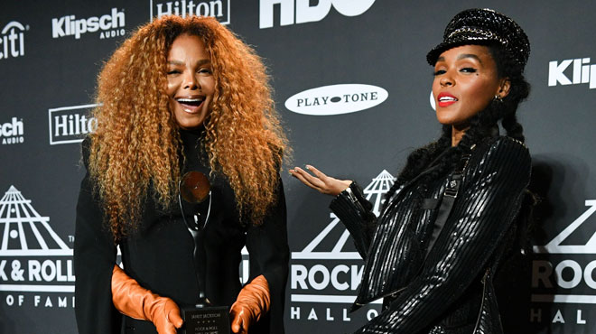 "Janet Jackson, Radiohead, The Cure entrent au ""Rock and Roll Hall of Fame"""