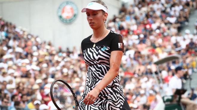 Sevastova s'impose contre Mertens au terme d'un match fou — Roland-Garros