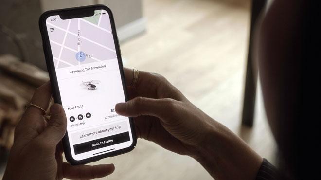 Uber s'apprête à lancer son service Uber Copter à New York