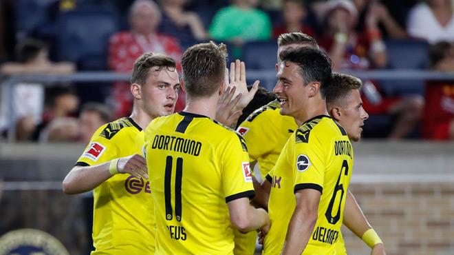 Le Borussia Dortmund, avec Thorgan Hazard et Axel Witsel, triomphe difficilement de Liverpool (vidéo)