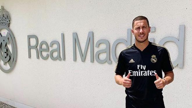 """Eden Hazard va jouer son premier match avec le Real Madrid cette nuit: """"Je vais essayer d'impressionner tout le monde"""" (vidéo)"""