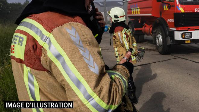 Un incendie ravage une habitation à Arquennes