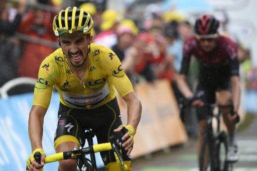 Tour de France: Pinot domine, Alaphilippe faiblit