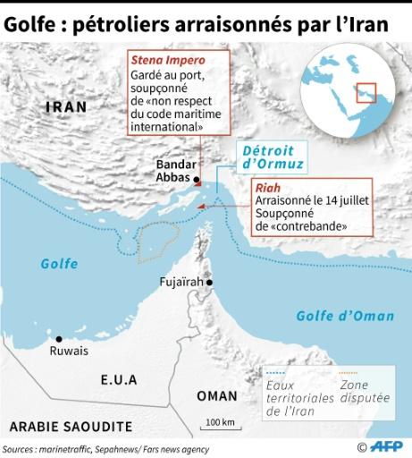 Pétrolier arraisonné: Téhéran enquête, Londres récuse la version iranienne de l'incident