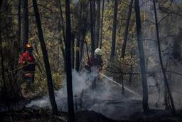 Un millier de pompiers mobilisés pour combattre les incendies de forêts au Portugal