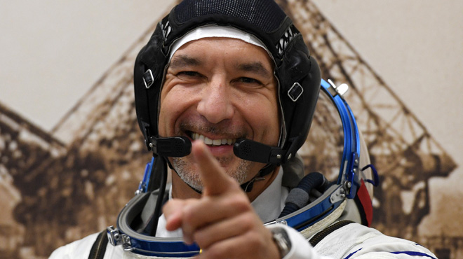 Cet astronaute italien se prépare à mixer depuis l'espace: une première