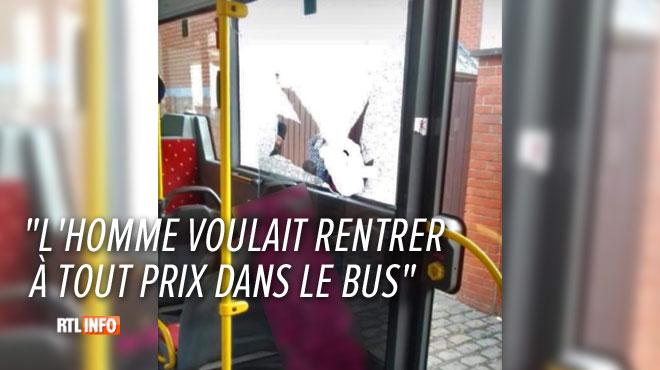 """""""Il était au milieu de la route, un sabre à la main"""": un individu a pris pour cible un bus rempli d'enfants à Beloeil"""