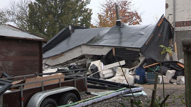 Une violente explosion détruit complètement une maison à Temploux: quatre personnes sont blessées