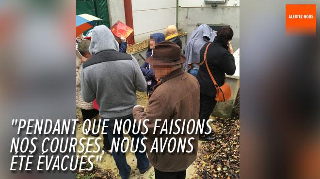 Le Colruyt de Nivelles braqué ce matin: les clients ont été évacués (photo)