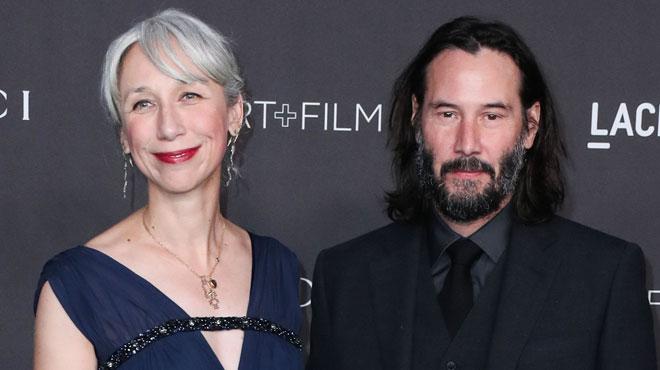 Keanu Reeves sort avec une femme qui a presque son âge et étonnamment... ça dérange