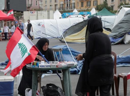 Pour les vendeurs ambulants au Liban, la contestation est une aubaine