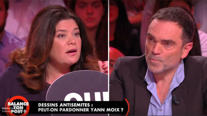 """Raquel Garrido à Yann Moix: """"Je ne vous ai jamais senti en empathie avec les Palestiniens"""""""