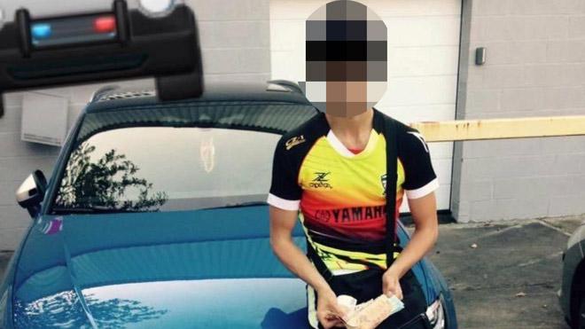 """Dylan, un Liégeois de 21 ans, vole une Audi et se vante sur Facebook: """"Croquer le fruit du péché"""""""