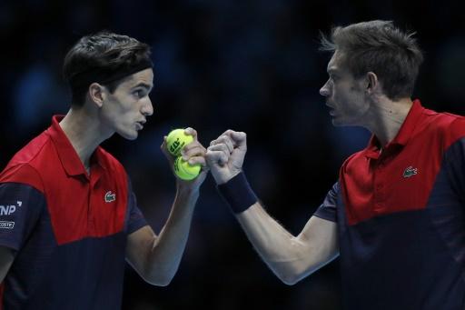 Masters: Herbert et Mahut battent la paire allemande et filent en demi-finale