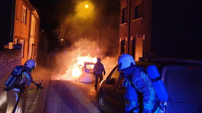 9 voitures ont été incendiées durant la nuit à Charleroi