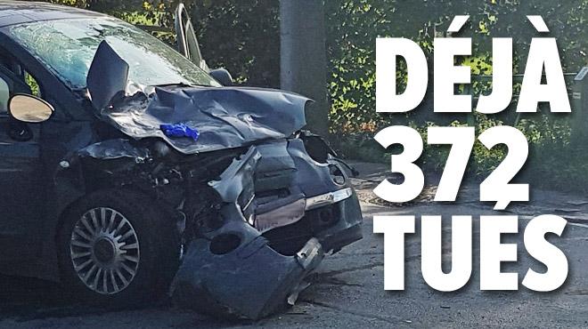 """Tués sur les routes cette année (les piétons payent un lourd tribut): """"Le bilan des 9 premiers mois est DRAMATIQUE"""""""