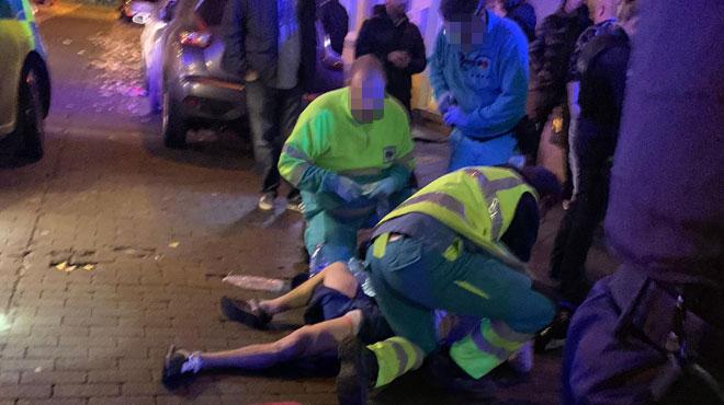 Coups de feu à Charleroi: une personne blessée aux jambes