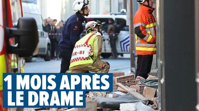 """""""Je serai la plus forte possible pour notre fils"""": le témoignage de la compagne de Franck, décédé dans l'effondrement d'une maison à Mons"""