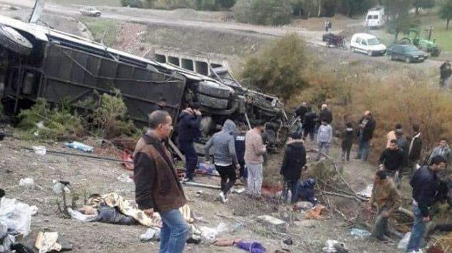17 personnes perdent la vie dans un accident de car au Maroc