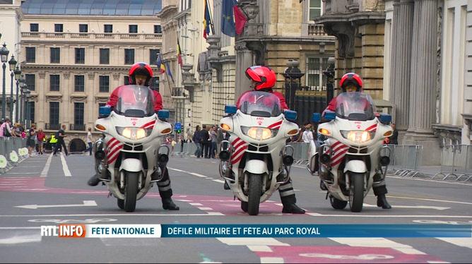 La circulation dans Bruxelles très limitée à cause du défilé militaire