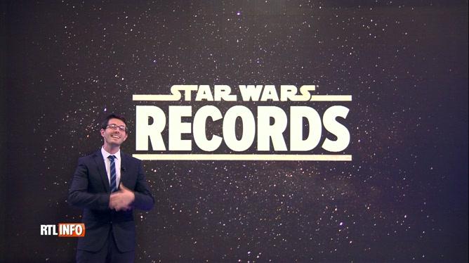 Star Wars continue de battre des records au box office