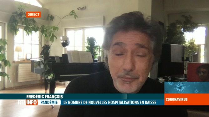 Coronavirus en Belgique: la vie de confinement de Frédéric François