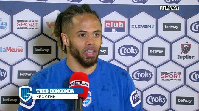 Réaction de Theo Bongonda après la finale de la Croky Cup