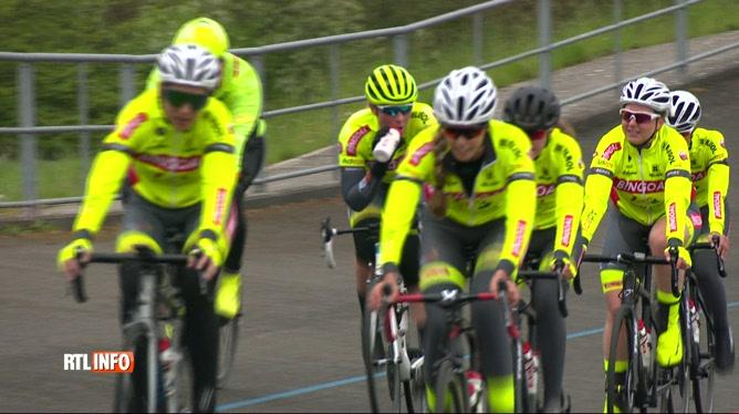 Naissance d'une équipe cycliste féminine et 100% francophone
